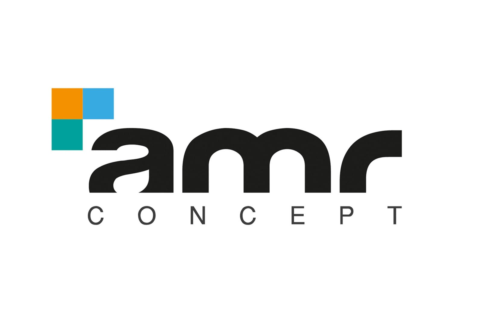 Logotype d'AMR Concept, graphiste à Lyon : Laurent Pischiutta