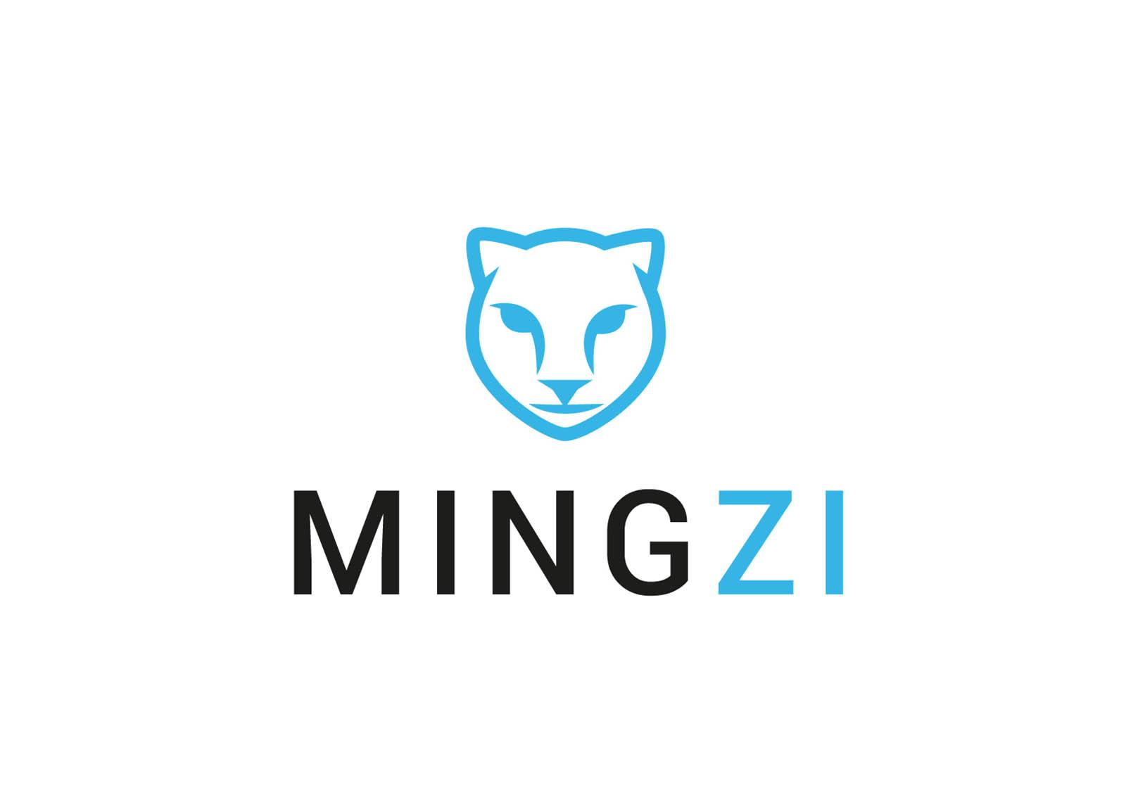 Logotype Mingzi - graphiste freelance Lyon - Laurent Pischiutta